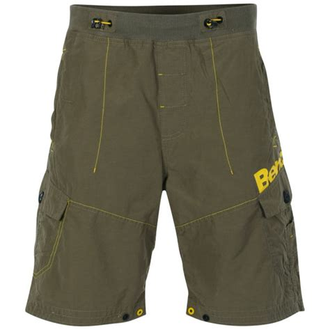 bench mens shorts bench men s interlope cargo shorts green mens clothing zavvi com