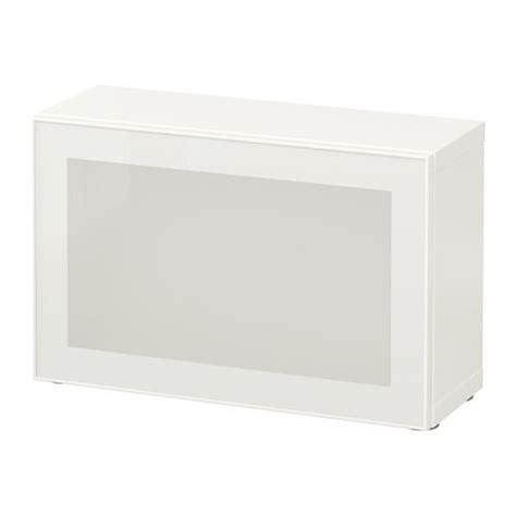 besta glassvik best 197 shelf unit with glass door white glassvik white