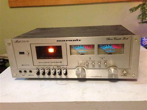 marantz cassette marantz 5010 cassette deck vintage hi fi for parts only