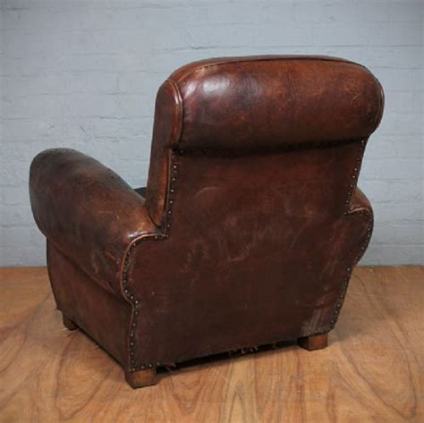 french leather armchair vintage french leather armchair 241955