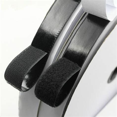 2 rolls 1m hook and loop strong self adhesive fastener