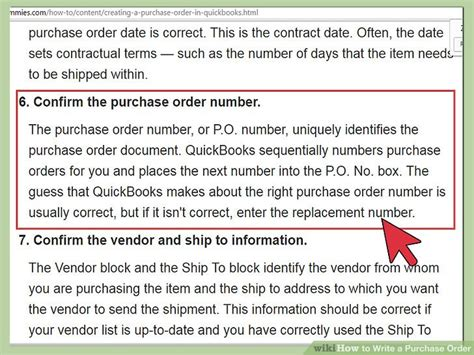 Purchase Order Letter To Vendors 4 ways to write a purchase order wikihow