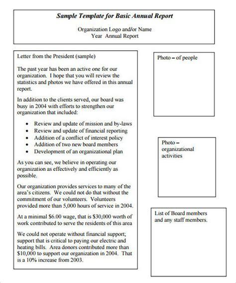 sample reports sample templates