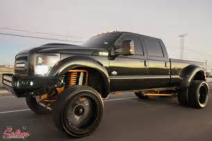 Why Do Trucks Spikes On Their Wheels Truck Trends Big Wheels Small Tires On A 4x4 Ford
