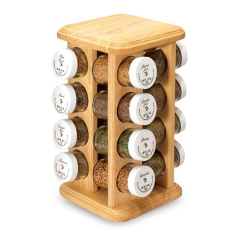 Spice Jar Stand Spice Rack With Spices