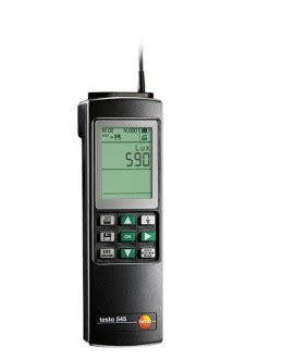 speed of sound testo testo 545 light meter datalogger 0 100 000