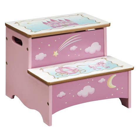 Kid Step Stool by Wooden Step Stools Decosee