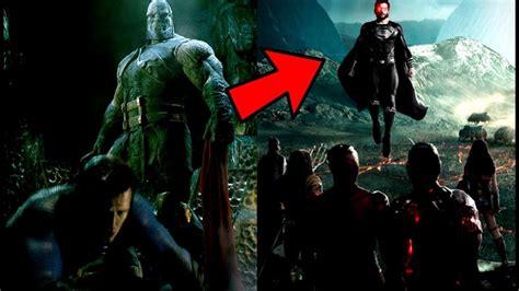 justice league film darkseid justice league news darkseid vs superman image revealed