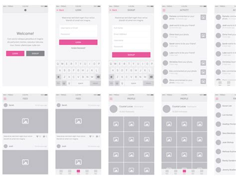 ios wireframe template snap kit ios wireframing tool built for sketch psddd co
