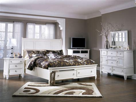 prentice bedroom set prentice storage sleigh bedroom set ashley furniture