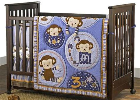 Cocalo Baby Bedding For Boys Reviews And More Newborn Baby Boy Monkey Crib Bedding