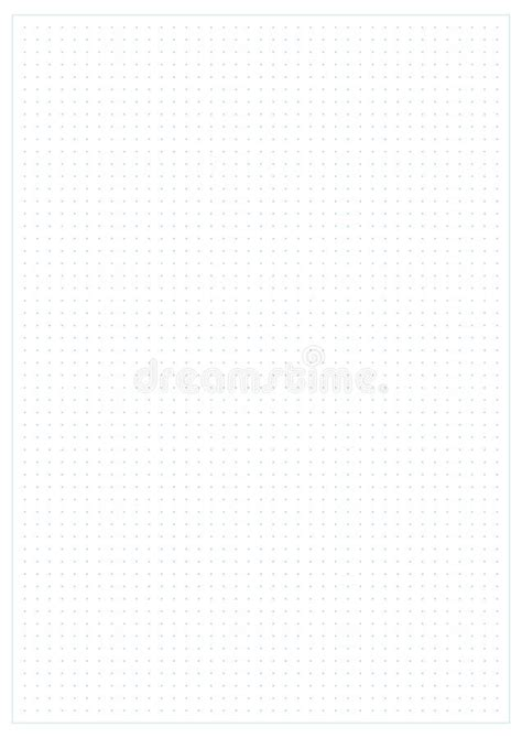 bullet background paper dotted grid graph paper background stock vector