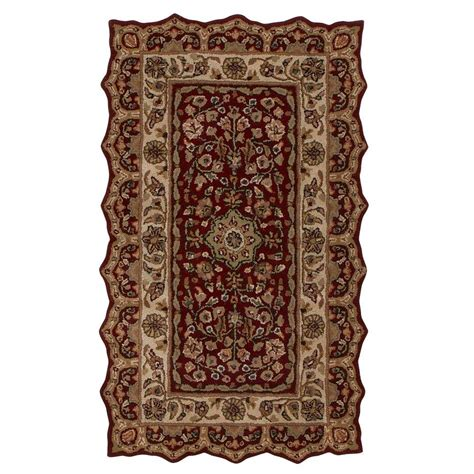 home accent rug collection home decorators collection masterpiece red 2 ft 3 in x 4