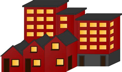 wohnung clipart clipart appartment buildings and town houses
