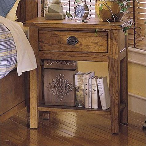 attic heirlooms bedroom 4397 92 broyhill furniture night stand stain