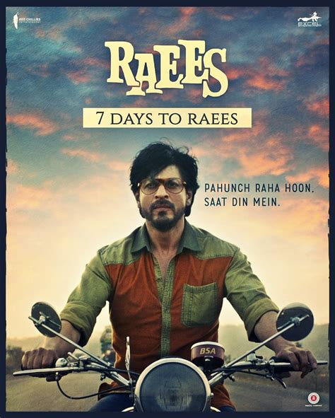 biography of raees film shah rukh khan s raees movie poster photos images