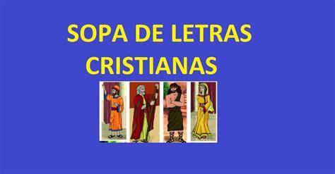 preguntas cristianas para jovenes faciles sopa de letras cristianas personajes biblicos