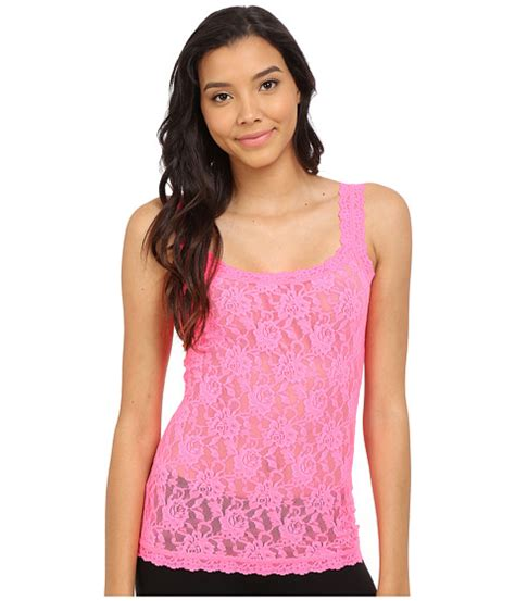 Camisole Forget Me Not Desiree hanky panky signature lace unlined cami 6pm