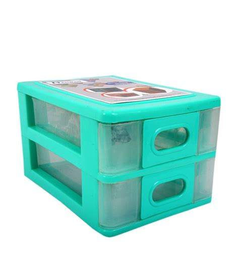 Multi Utility Storage Drawers Hanbao Multi Utility Plastic Drawer 2 Row Light Green Buy