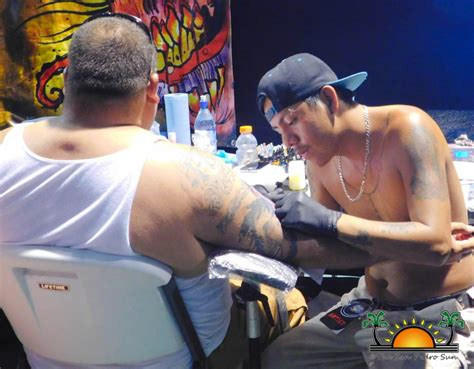 belize tattoo 2nd annual belize expo a success in san pedro town
