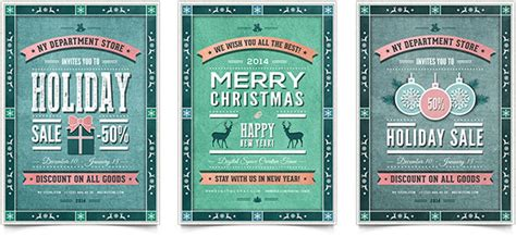 free templates for vintage flyers 30 christmas holiday psd ai flyer templates pixel curse