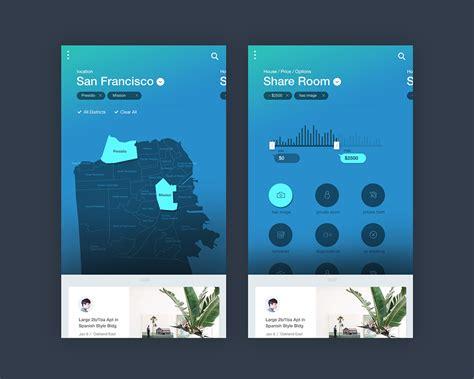 houses for rent app houses for rent app on behance