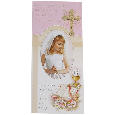 Holy Communion Cards And Gifts - my daughter first holy communion card cachet kids