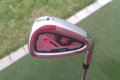 preview wilson staff golf  irons  flx face technology