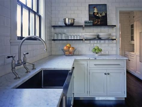 Kitchen Without Wall Cabinets 15 Design Ideas For Kitchens Without Cabinets Gardens Open Shelving And House Ideas