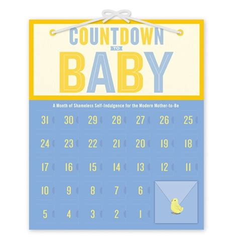 Printable Baby Calendar