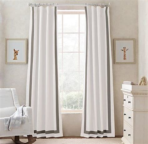 Grey And White Curtains Window Treatments Gray Matelasse Curtains