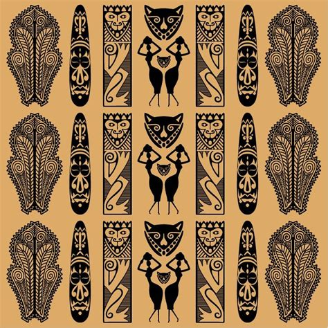 african pattern vector traditional african pattern vector free vector graphics