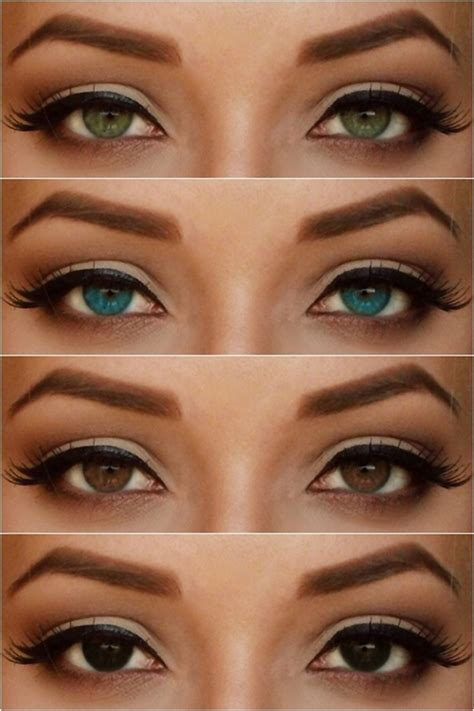 different eye color special koko make up look inspired by for h