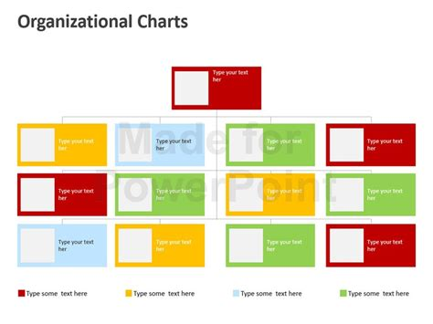 powerpoint templates free download organisation chart organization chart in powerpoint editable templates