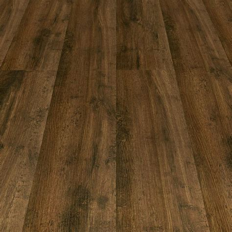 Laminate Flooring With Pad Master Design 10 3mm Whiskey Barrel Oak Brown Laminate