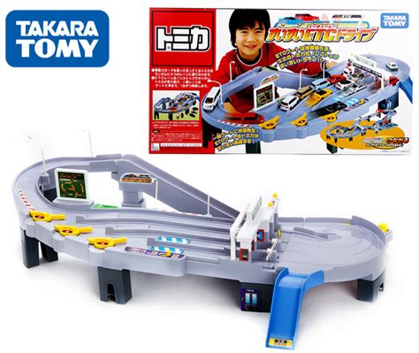 Tomica Auto Parking Garage by Takara Tomy Tomica Etc Highway Automatic Toll Station