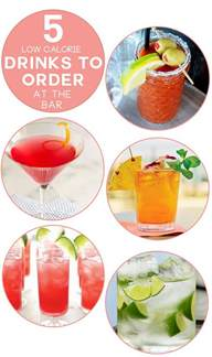 5 low calorie drinks to order at the bar charmingly styled