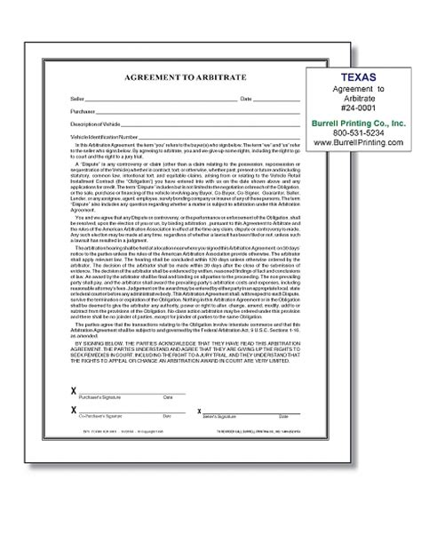 Agreement Letter To Pawn burrell printing company inc our products auto