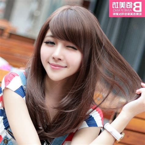 korean hairstyles for round face female korean hair cut for girls hairstyle hits pictures