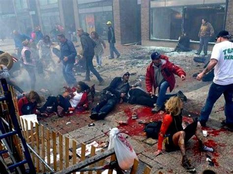 boston marathon bombing images terror at the boston marathon photos the big picture