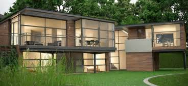 Green Home Designs Floor Plans Eco House Denbigh