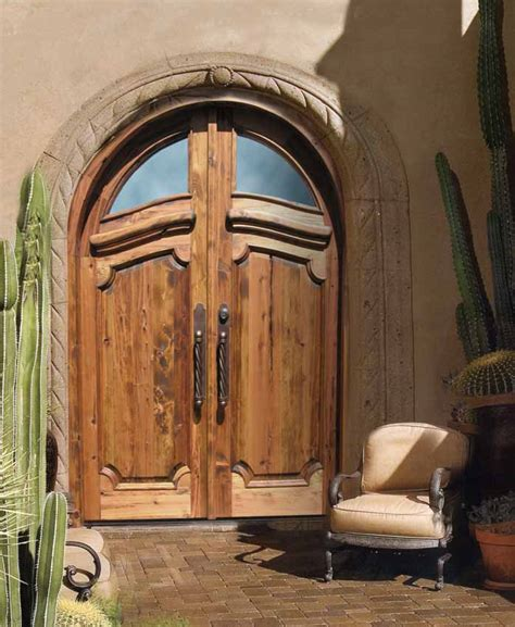 Historical Design Handcrafted Solid Wood Doors