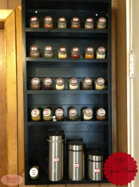 diy spice rack bookshelf 1000 images about shelf tutorials on home projects shelves and hooks