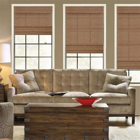 woven shades chicology cordless magnetic shade window blind