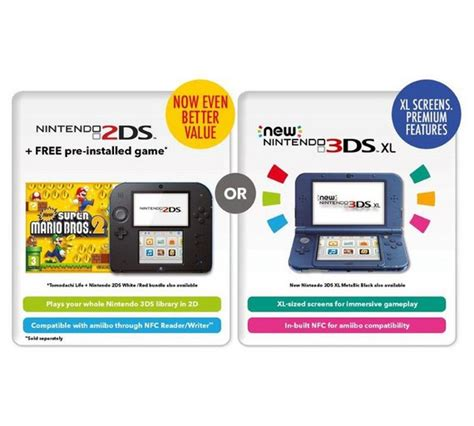 nintendo 3ds console best price buy nintendo 2ds console with mario bros 2