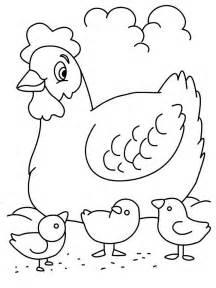 hen coloring pages az coloring pages