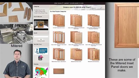 order cabinet doors online how to buy kitchen cabinet doors online youtube