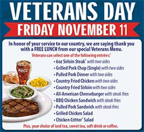 Texas Roadhouse Gift Cards At Walmart - texas roadhouse free lunch for military nov 11 free 4 seniors