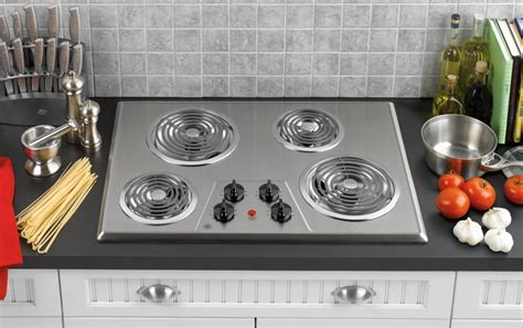 ge jpskss   electric cooktop   coil elements