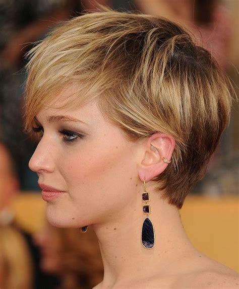 bi level haircut look like side look haircut pixie jennifer lawrence latest haircuts